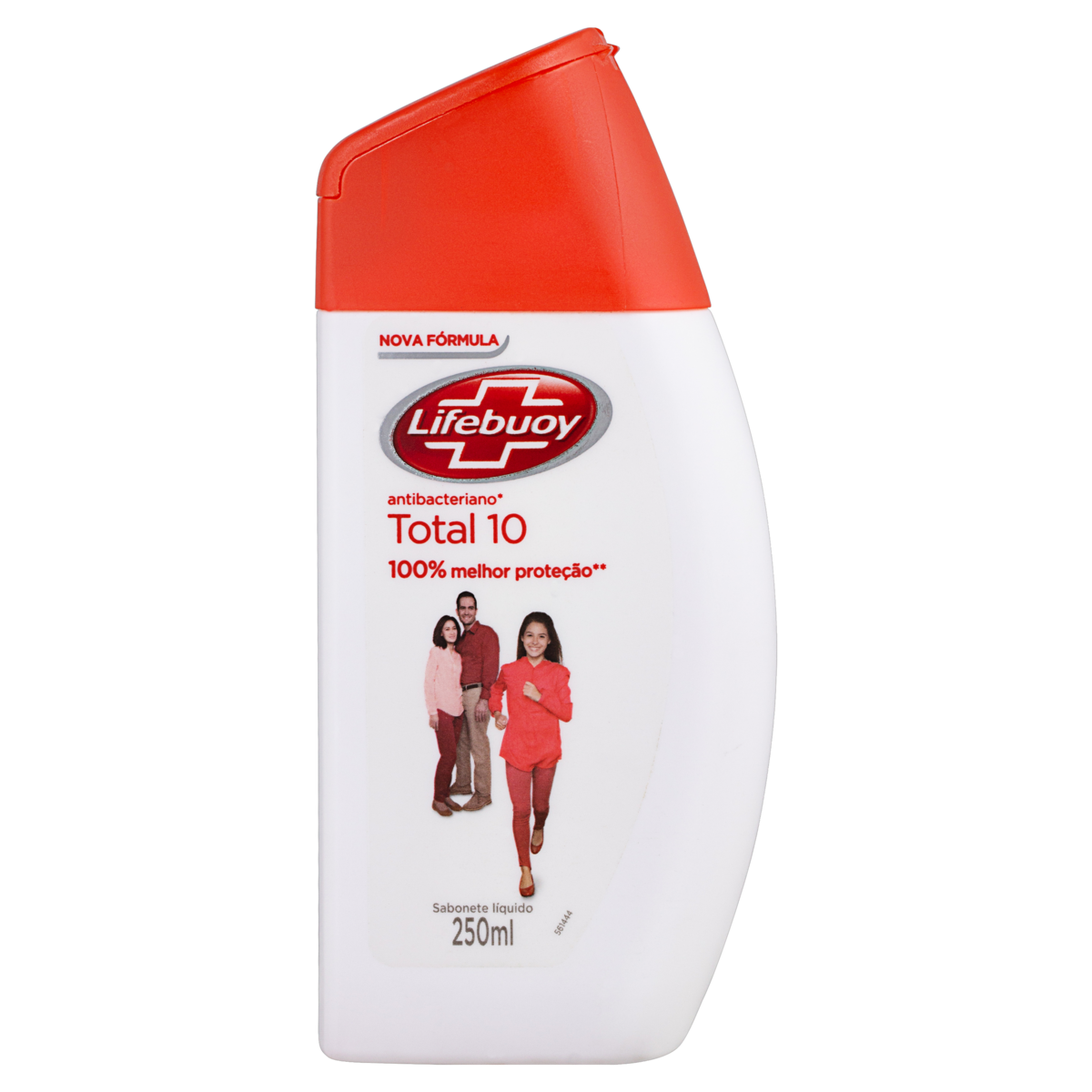 7891150006966 - SABONETE LÍQUIDO ANTIBACTERIANO TOTAL 10 LIFEBUOY FRASCO 250ML