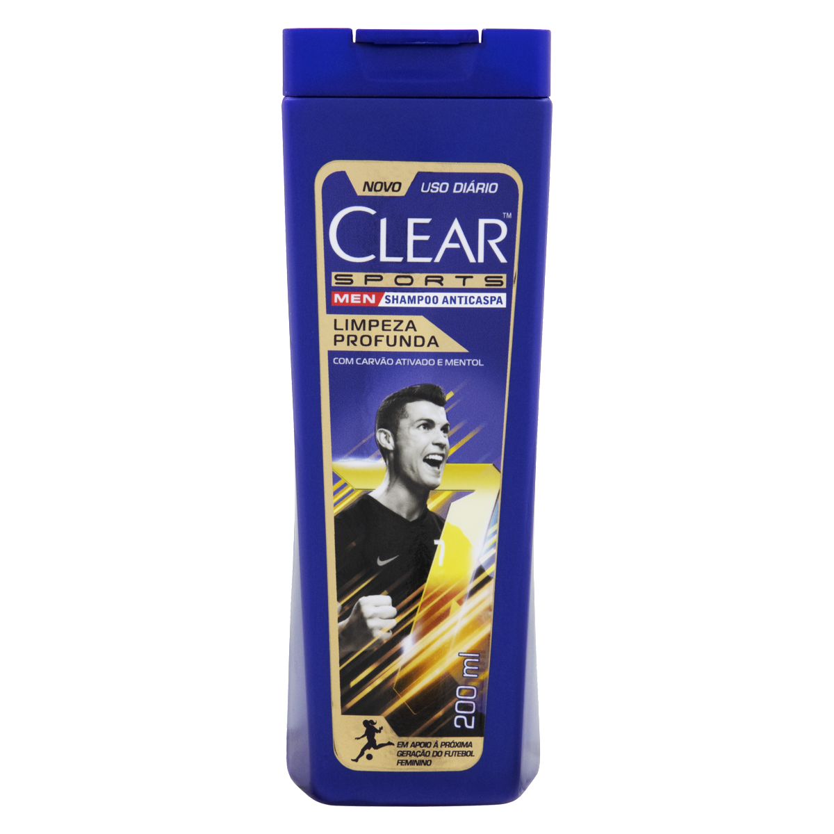 7891150019508 - SHAMPOO ANTICASPA CLEAR MEN SPORTS FRASCO 200ML