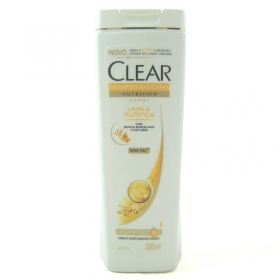 7891150034129 - SHAMPOO ANTICASPA CLEAR WOMEN LIMPA E PURIFICA