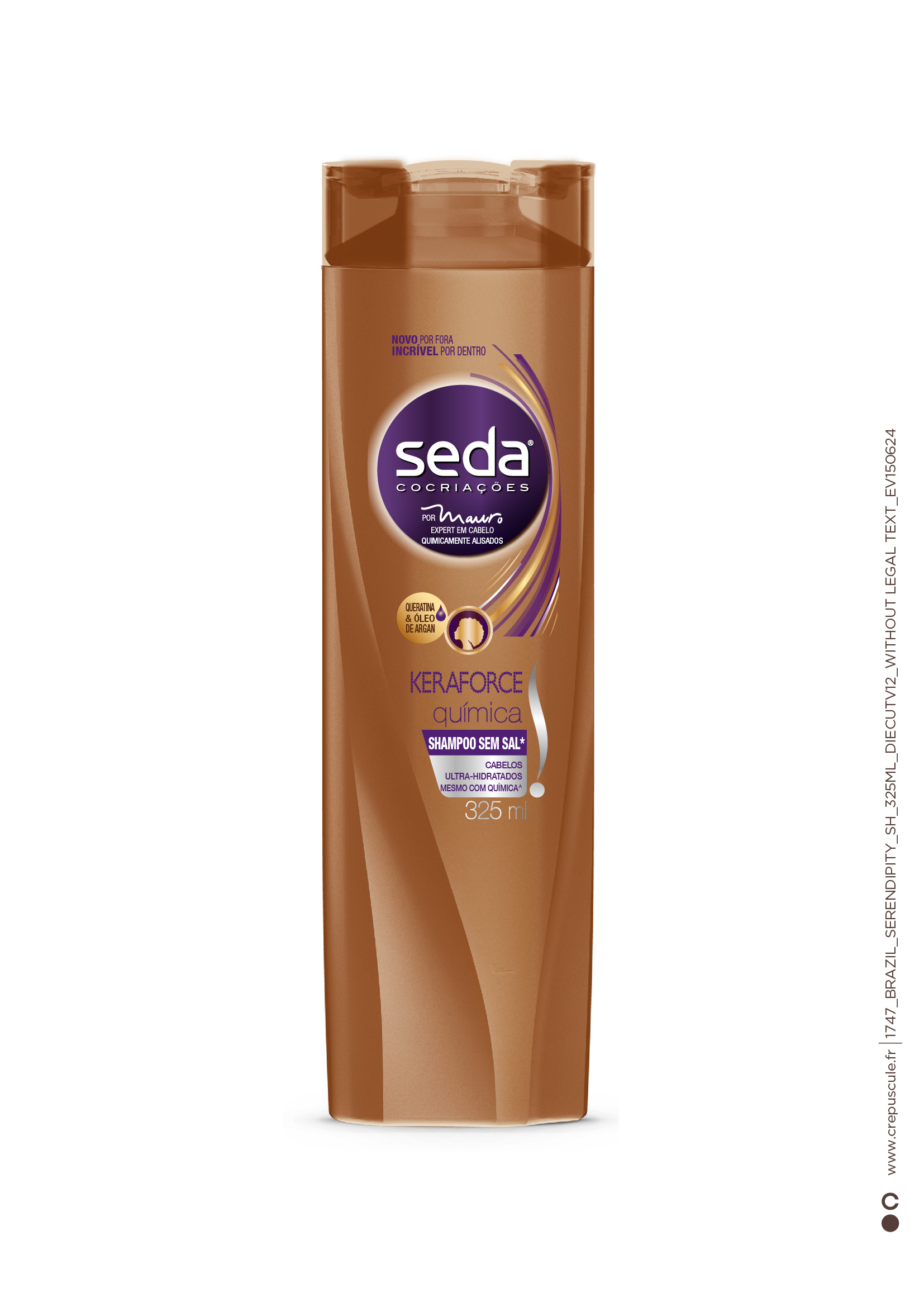 7891150037496 - SHAMPOO SEDA KERAFORCE QUÍMICA 325ML