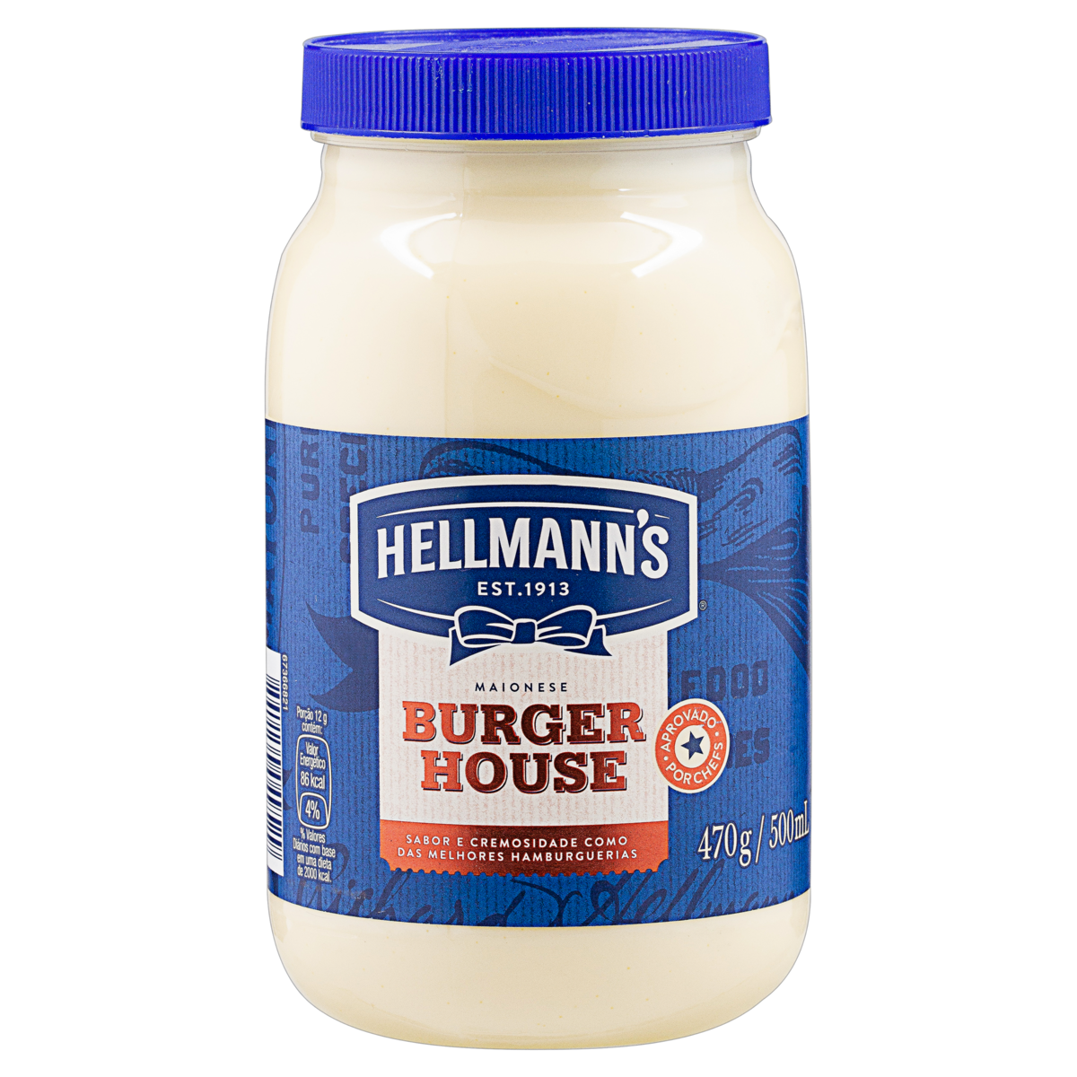 7891150049529 - MAIONESE HELLMANNS BURGER HOUSE POTE 470G