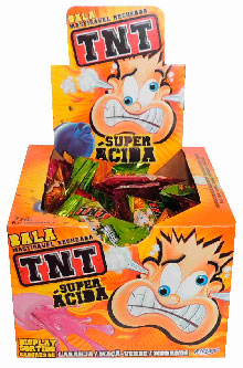 7891151005593 - BALA RICLAN SUPER ACIDA TNT 5,0 G
