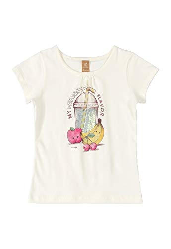 7891619710892 - BLUSA MANGA CURTA E COTTON UP BABY, BEGE, 04