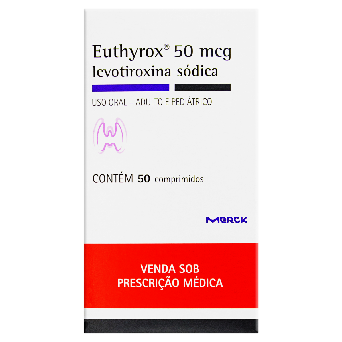 7891721014697 - EUTHYROX 50MCG CART 50 COMP