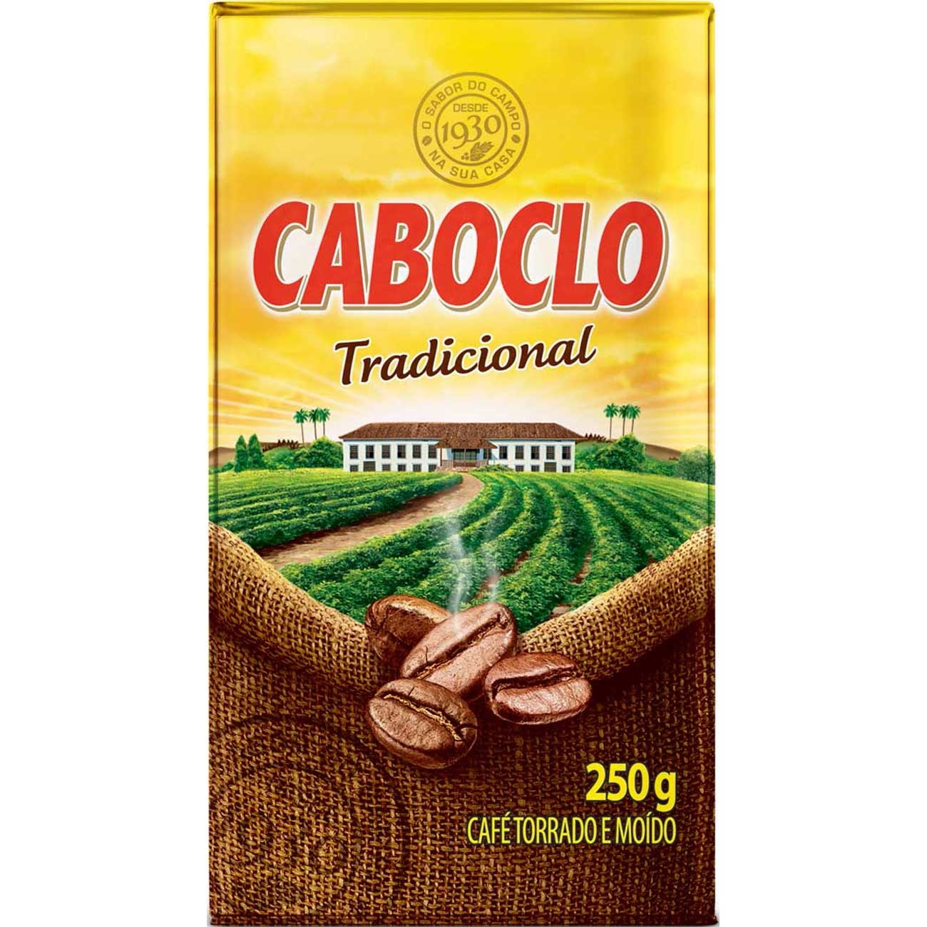 7891910012459 - CAFE CABOCLO VACUO R