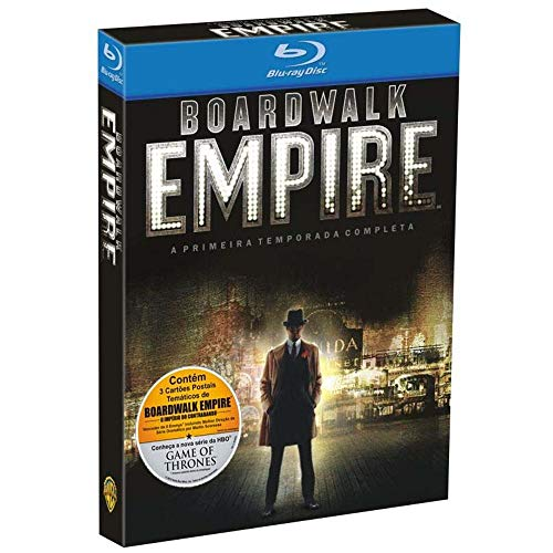 7892110131148 - BLU-RAY - BOARDWALK EMPIRE: O IMPÉRIO DO CONTRABANDO - 1ª TEMPORADA COMPLETA - 5 DISCOS