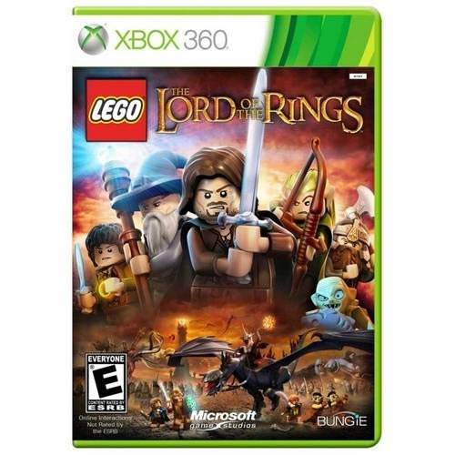 7892110138666 - LEGO LORD OF THE RINGS XBOX 360 DVD