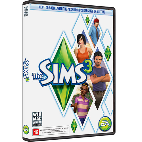 7892110139168 - GAME THE SIMS 3: REFRESH - PC