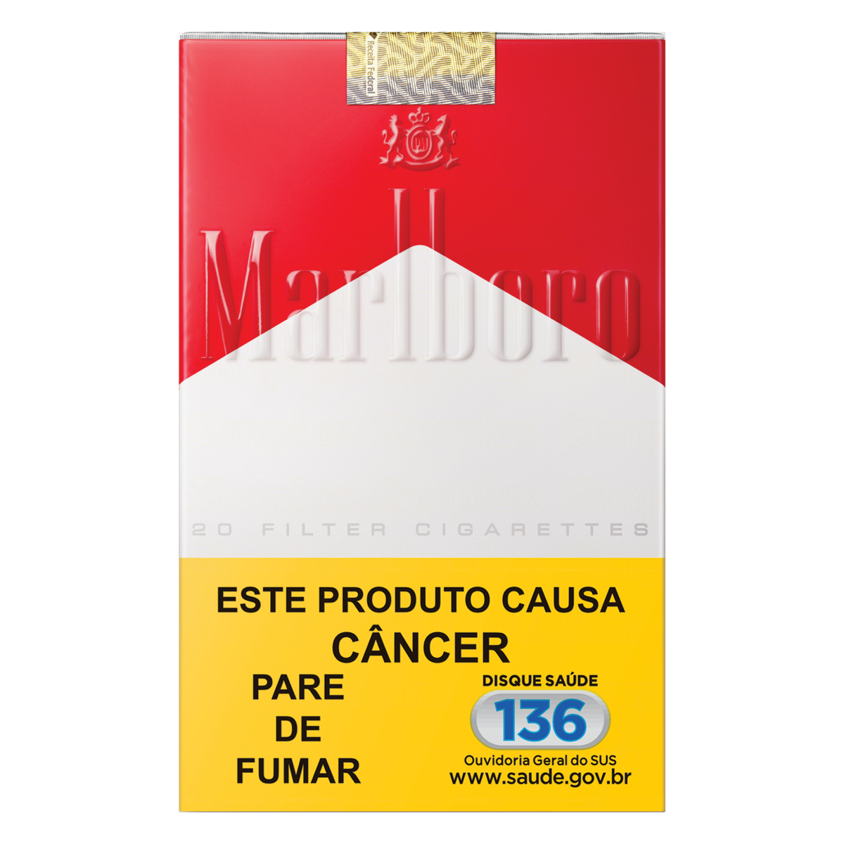 0000078922594 - CIGARRO RED MARLBORO MAÇO