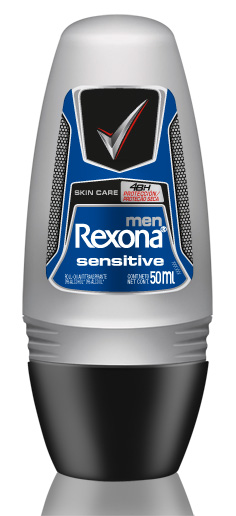 0000078923423 - DESODORANTE ANTITRANSPIRANTE ROLL ON REXONA MEN SENSITIVE 50ML