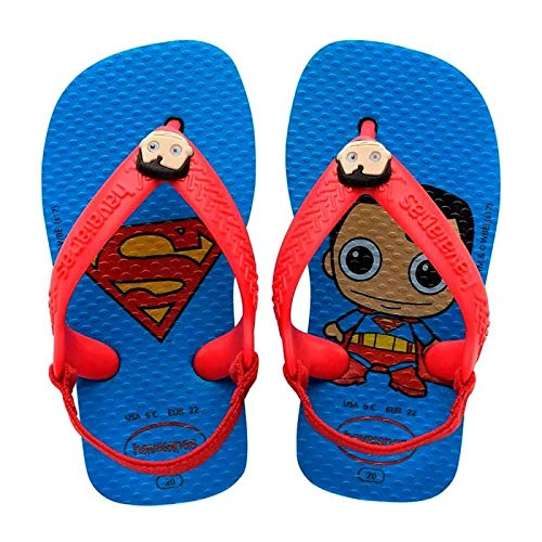 7893249694665 - CHINELO IN HAVAIANAS BABY HEROIS TURQ