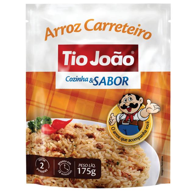 7893500012672 - ARROZ CARRETEIRO TIO JOÃO COZINHA & SABOR 175G