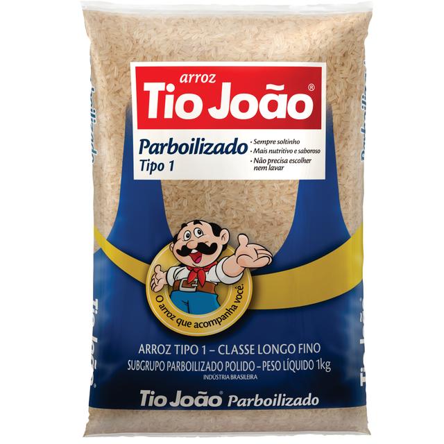 7893500018469 - ARROZ PARBOILIZADO TIO JOÃO TIPO 1 1KG