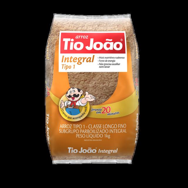 7893500018483 - ARROZ INTEGRAL TIO JOÃO TIPO 1 1KG