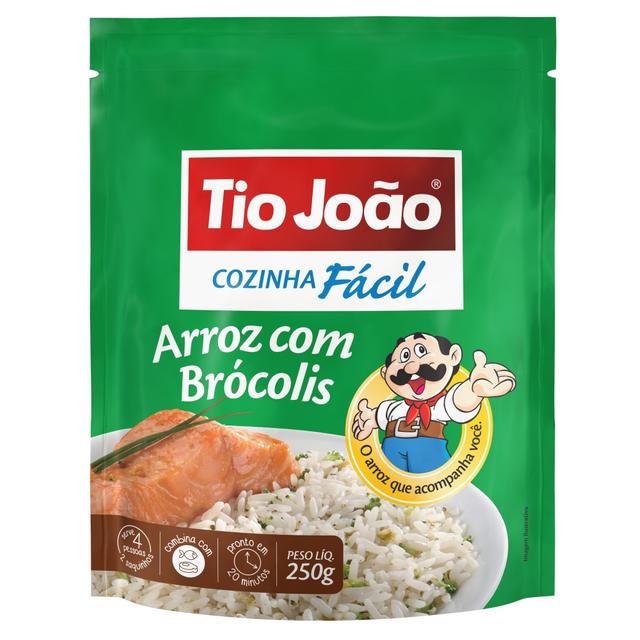 7893500025375 - ARROZ COM BRÓCOLIS TIO JOÃO COZINHA FÁCIL 250G