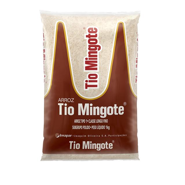 7893500038924 - ARROZ TIO MINGOTE- 1KG / TIPO 1/ CLASSE LONGO FINO
