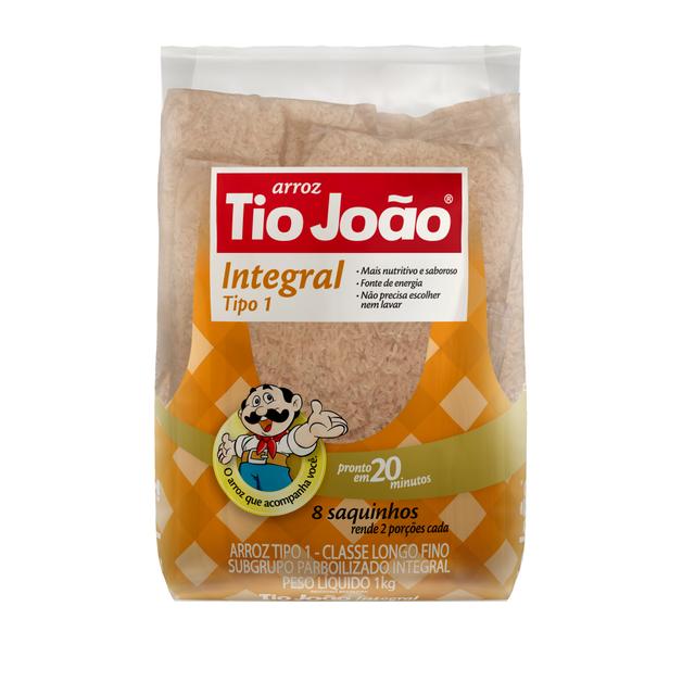 7893500050742 - ARROZ INTEGRAL TIO JOÃO TIPO 1 1KG