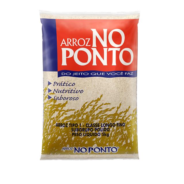 7893500052616 - ARROZ NO PONTO TIPO 1 CLASSE LONGO FINO 5KG
