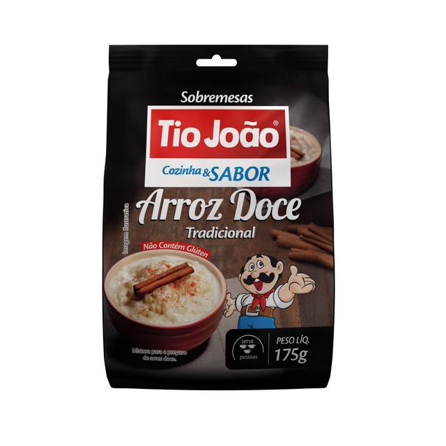 7893500083122 - ARROZ DOCE TRADICIONAL TIO JOÃO COZINHA & SABOR 175G
