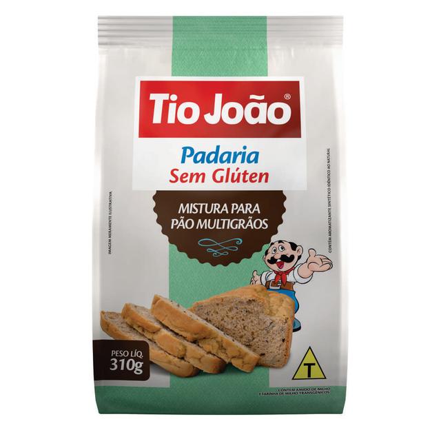 7893500090786 - MISTURA PARA PÃO MULTIGRÃOS TIO JOÃO 320G
