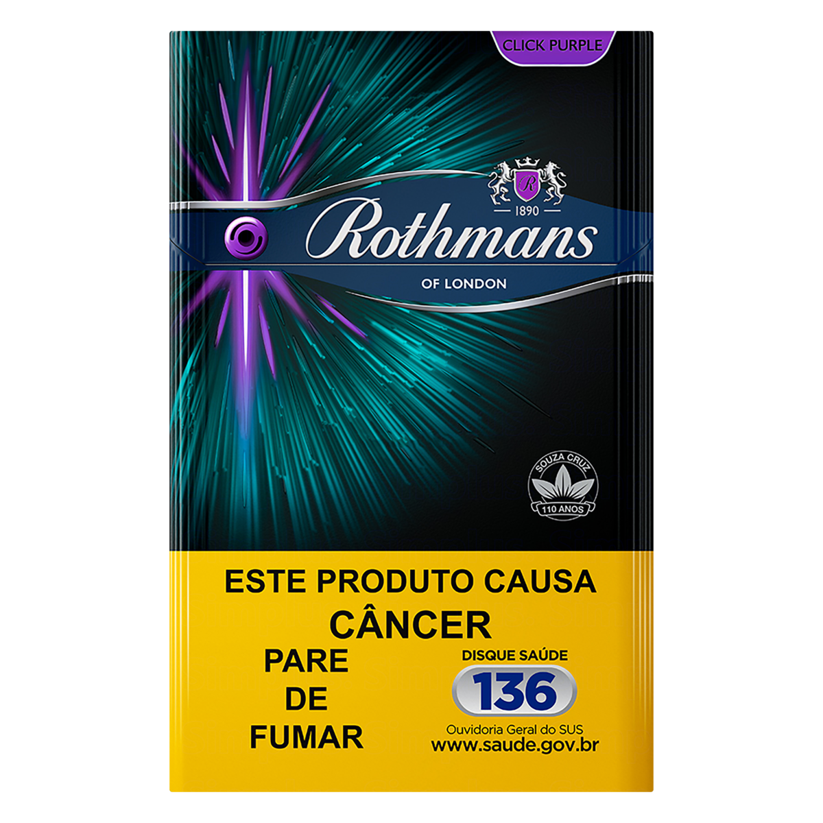 0000078937918 - CIGARRO CLICK PURPLE ROTHMANS BOX