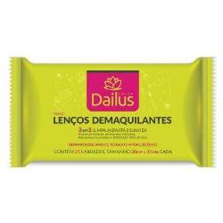 7894222008295 - LENCOS DEMAQUILANTES DAILUS COLOR