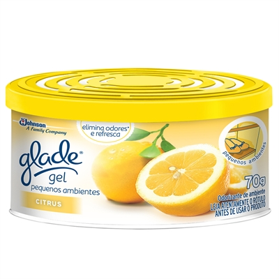 7894650005668 - ODOR.GLADE GEL CITRUS 70GR