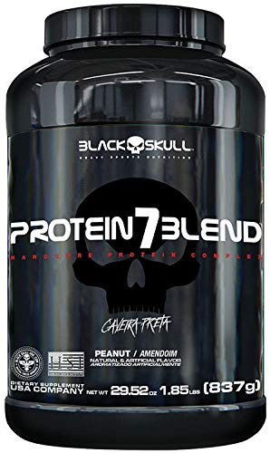 7895704410834 - PROTEIN7 BLEND 837G CHOCOLATE B SKULL