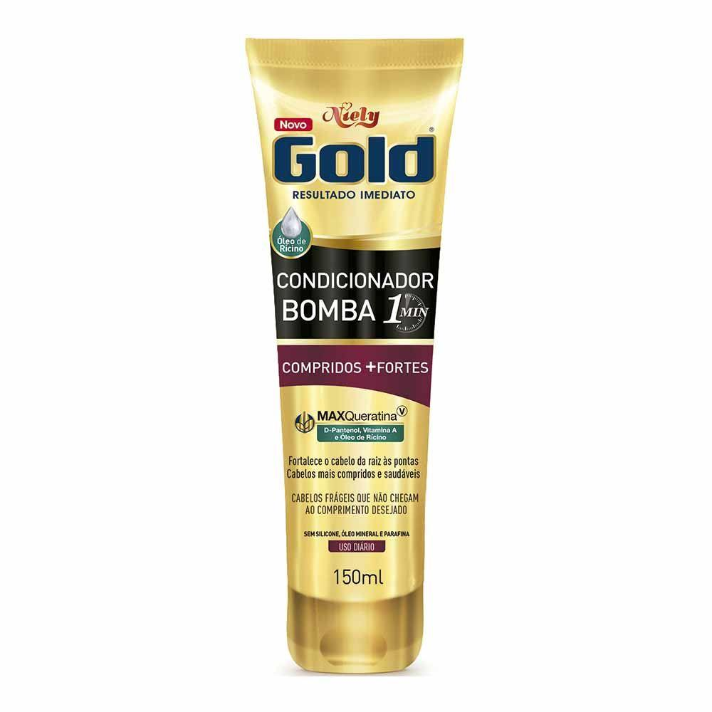 7896000726377 - COND NIELY GOLD 150ML BOMBA COMP+FORTES