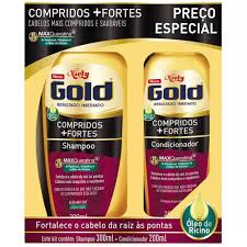 7896000726407 - KIT SH COND NIELY GOLD 2UN COMP+FORTES