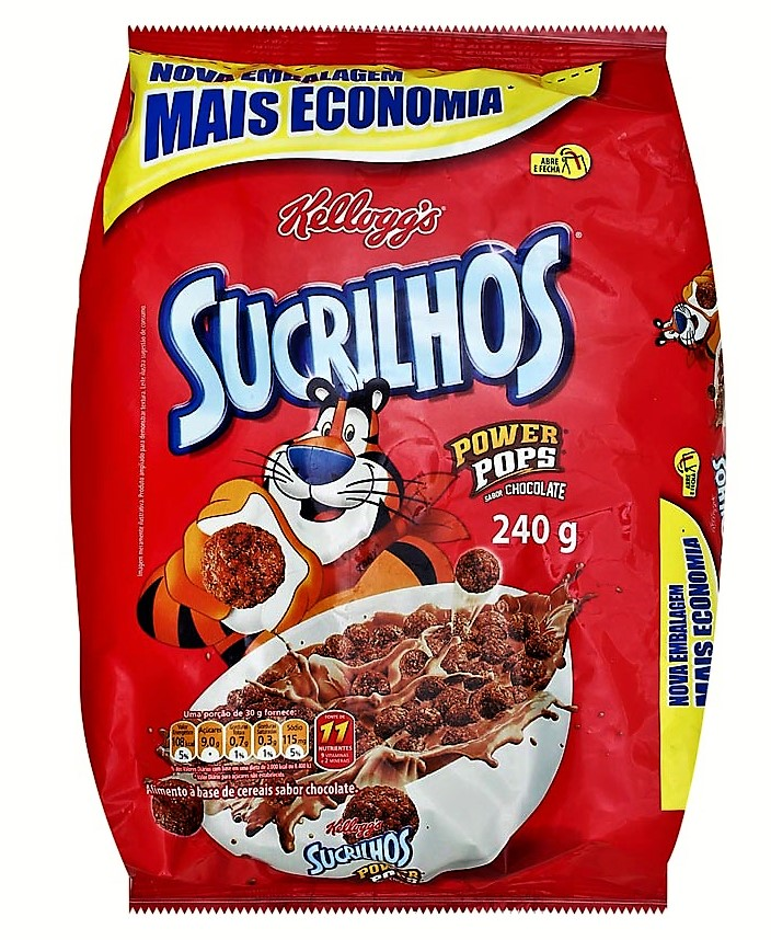 7896004005843 - CEREAL KELLOGGS SUCRILHOS 240G CHOCOPOWER PCT