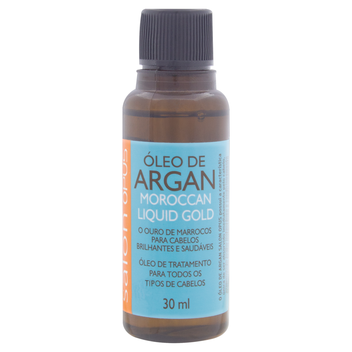 7896010175196 - ÓLEO ARGAN SALON OPUS MOROCCAN LIQUID GOLD FRASCO 30ML