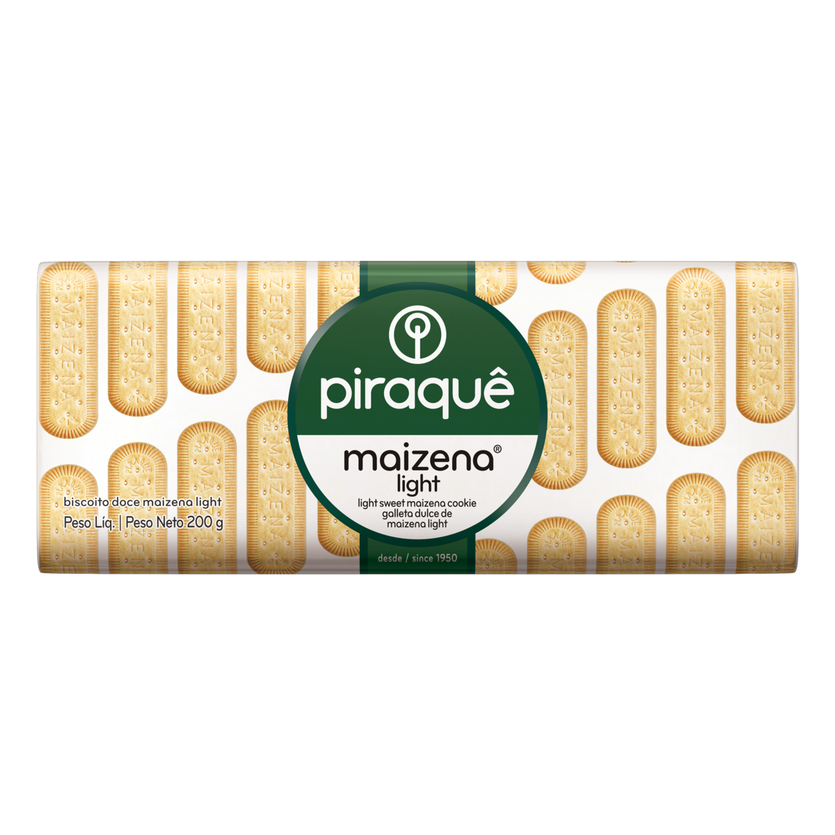7896024722591 - BISCOITO PIRAQUE MAIZENA LIGHT