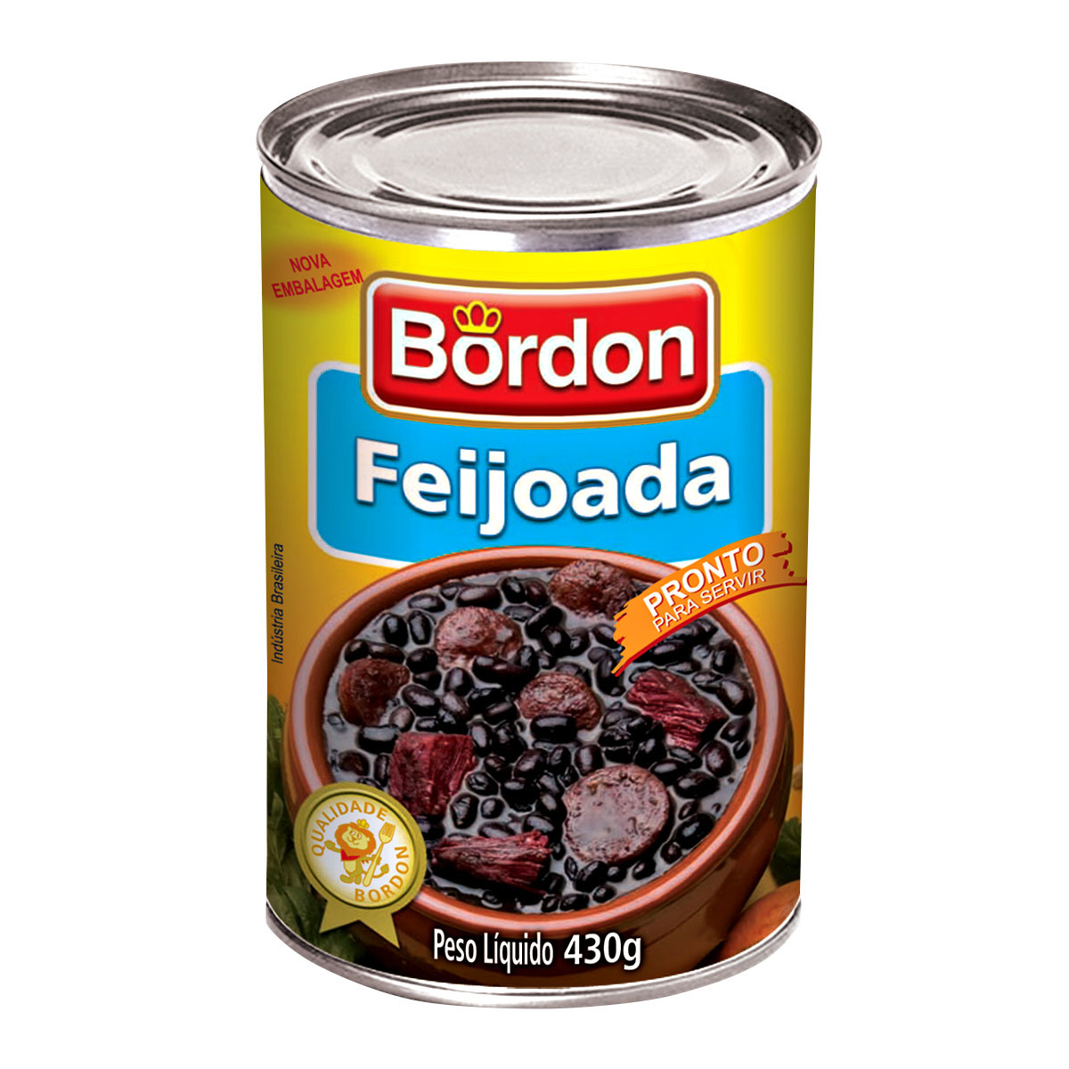 7896031224583 - FEIJOADA BORDON 24X 2513 | FEIJOADA BORDON 430 GR