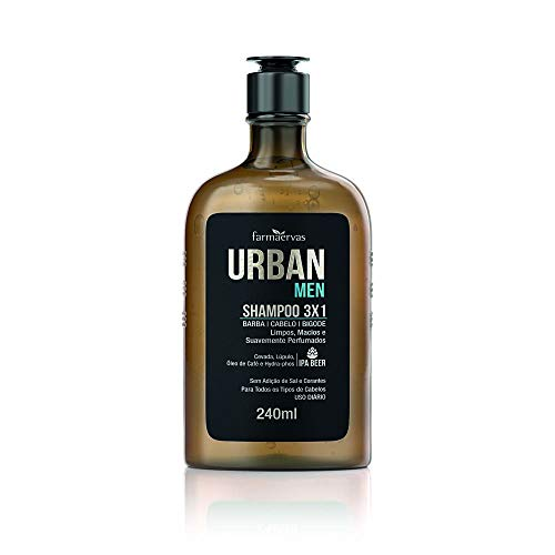 7896032635296 - SH. URBAN MEN IPA 3X1 240 ML (51433529 ) 00096531 VALOR APROXIMADO DOS TRIBUTOS R$ 27,82 (19,98%) FONTE IBPT