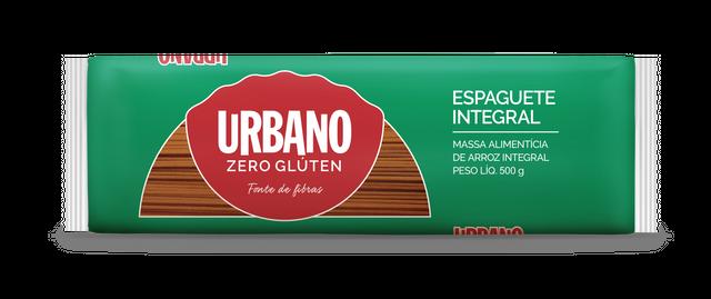 7896038314195 - MASSA ALIMENTÍCIA DE ARROZ URBANO ESPAGUETE INTEGRAL - 500G