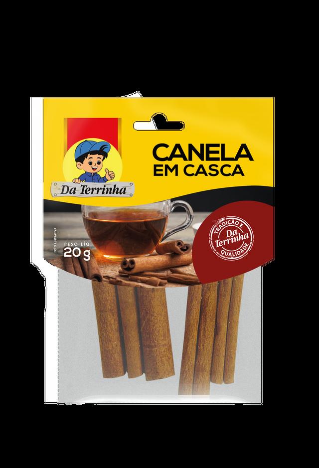 7896046580759 - CANELA EM CASCA DA TERRINHA 20G