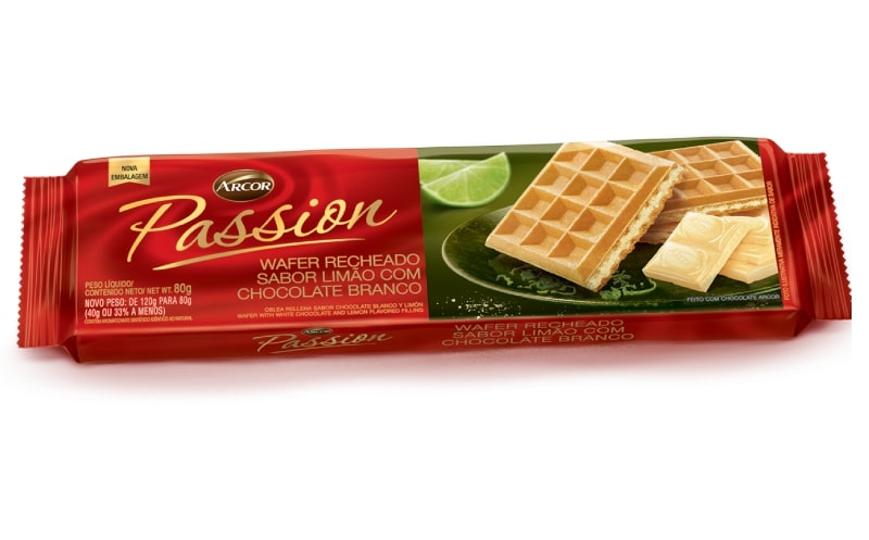 7896058257243 - BISC TRIUNFO WAFER 80G PASSION LIMAO