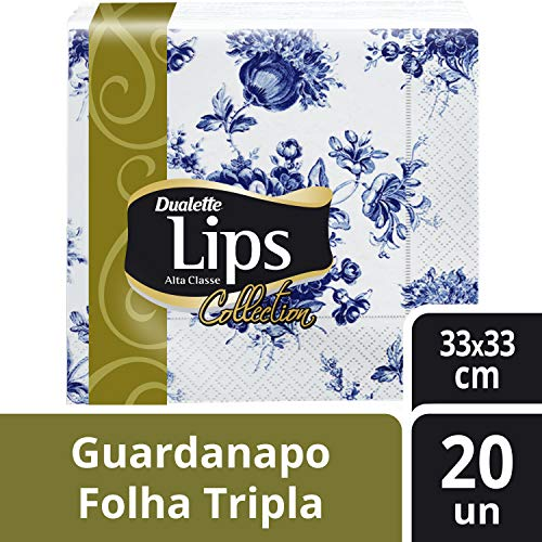 7896061931161 - GUARDANAPOS FOLHAS TRIPLAS COLLECTION 32,0X 3