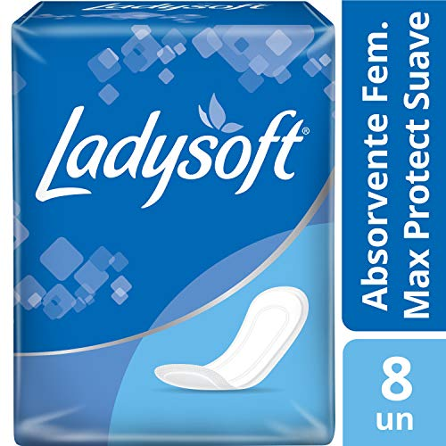 7896061980039 - ABSORVENTE S/ABAS LADYSOFT C/8 NORMAL