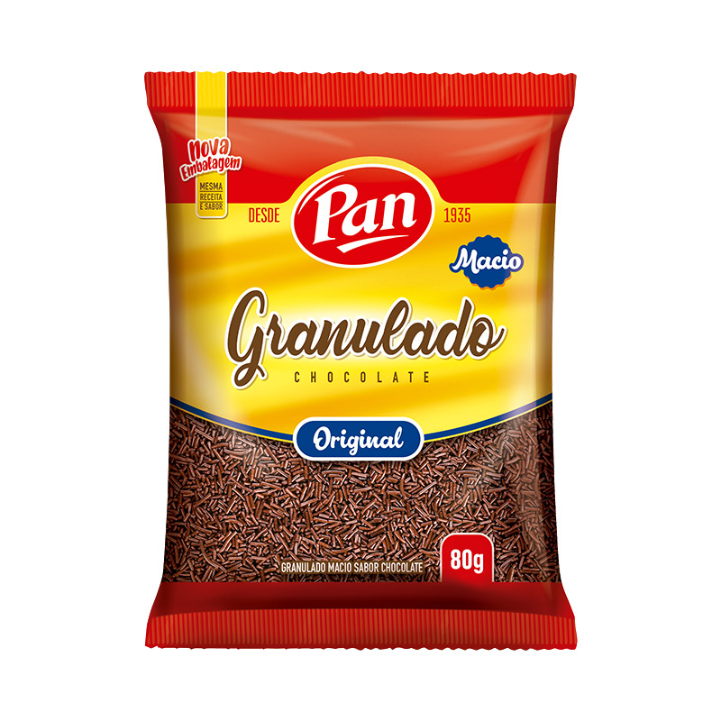 7896062537027 - CHOCOLATE GRANULADO PAN