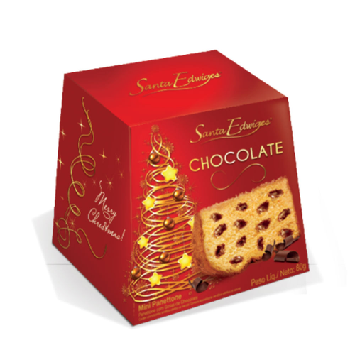 7896064203524 - PANETTONE ST EDWIGES 500GR CHOCOLATE