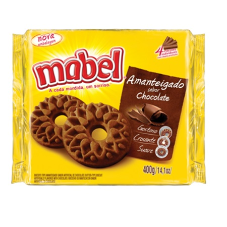 7896071007658 - AMANTEIGADOS CHOCOLATE MABEL R