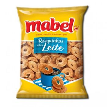 7896071025140 - BISCOITO ROSQUINHA LEITE MABEL PACOTE 700G