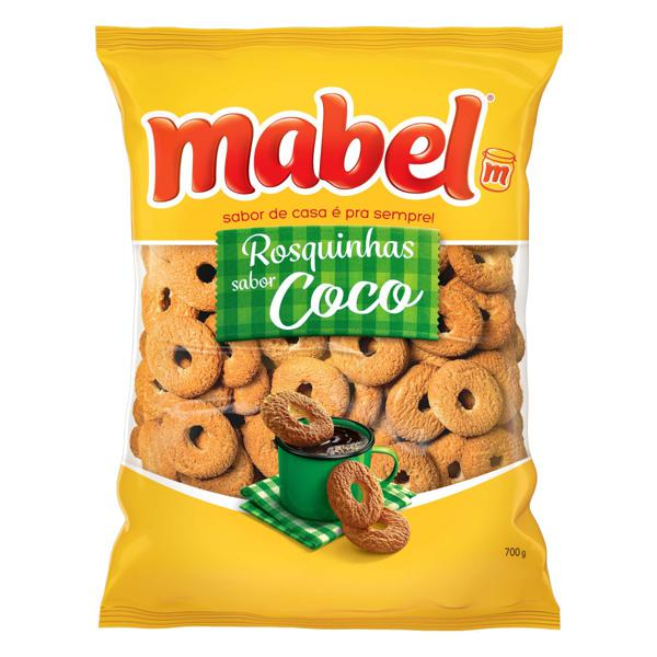 7896071025157 - BISCOITO ROSQUINHA COCO MABEL PACOTE 700G