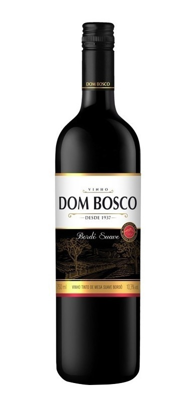 7896072903577 - VINHO BORDO DOM BOSCO TINTO SUAVE 750ML