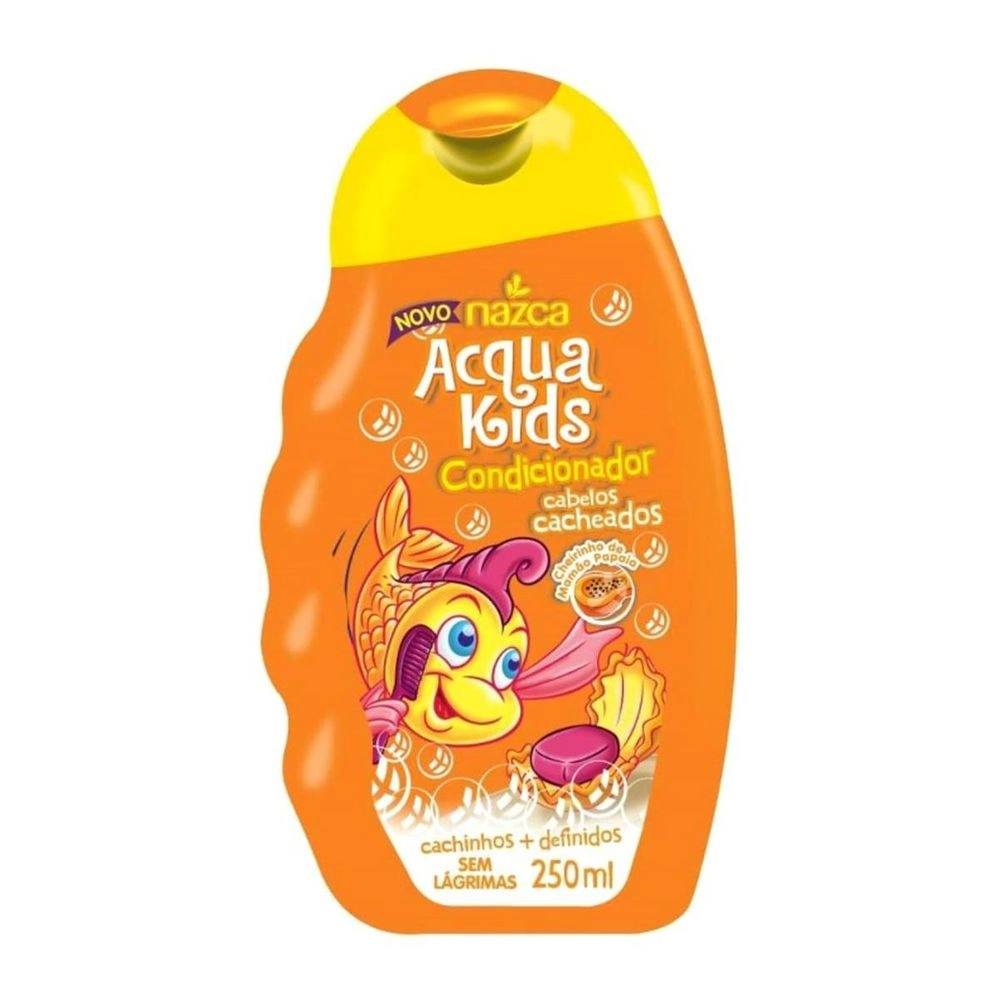7896085840050 - CONDICIONADOR INFANTIL ACQUA KIDS 250ML CACHEADOS UNIT