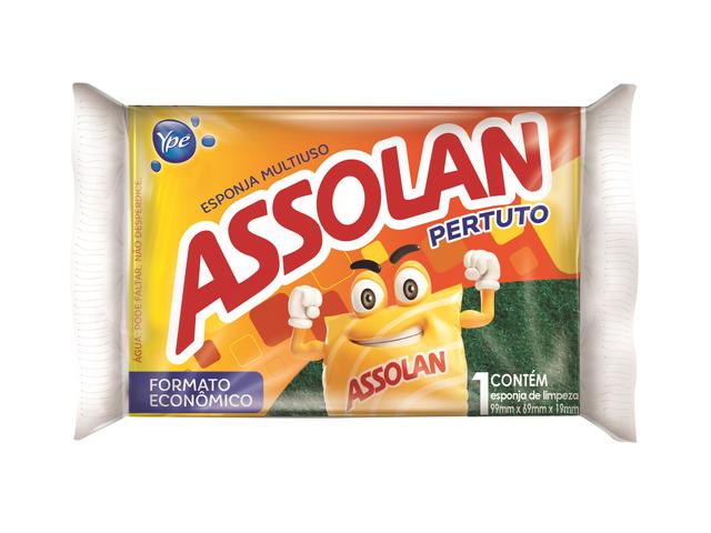 7896090105007 - ESPONJA ASSOLAN PERTUTO 1UN