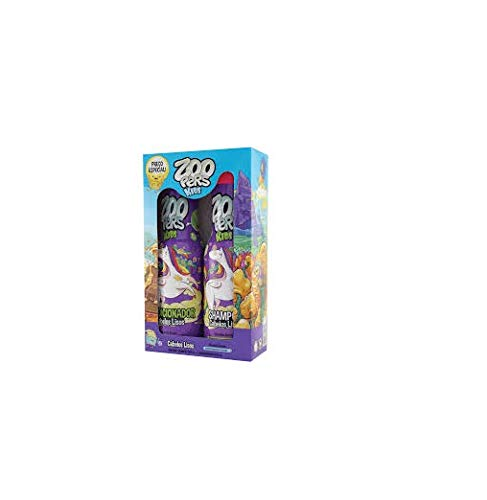 7896183309756 - KIT ZOOPERS 500ML SH + COND CAB LISOS
