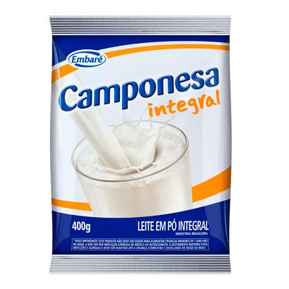 7896259410140 - LEITE EM PO INTEGRAL CAMPONESA 400G